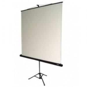 Tela De Projeção - Tripé - 1,50 x 1,50 - Visograf