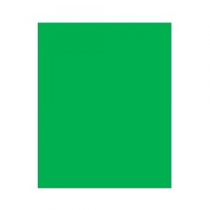 Capa Encadernação - Plástica - Fosco - Ofício - Verde - Plástico Líder